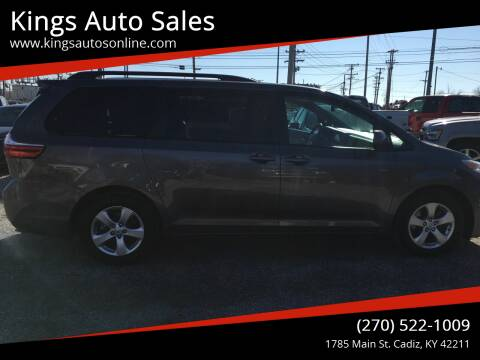 2015 Toyota Sienna for sale at Kings Auto Sales in Cadiz KY