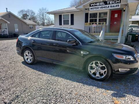 2011 Ford Taurus for sale at Wheel Tech Motor Vehicle Sales in Maylene AL