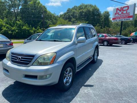 2008 Lexus GX 470 for sale at No Full Coverage Auto Sales in Austell GA