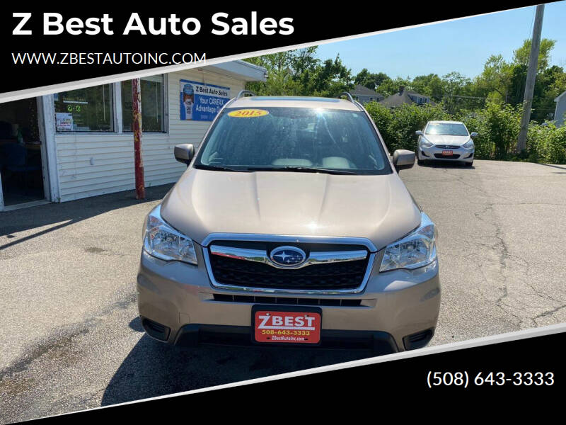 2015 Subaru Forester for sale at Z Best Auto Sales in North Attleboro MA