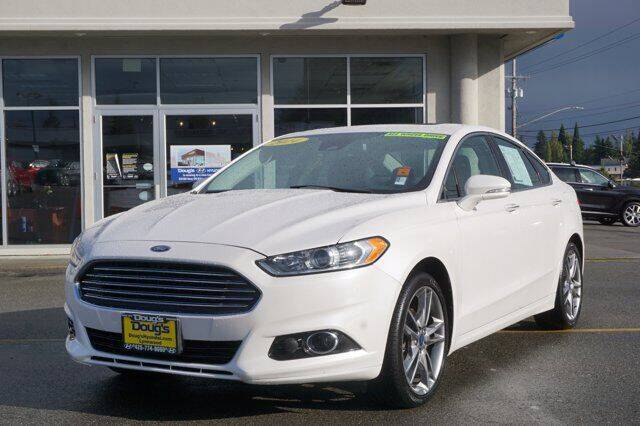 2014 Ford Fusion for sale at Jeremy Sells Hyundai in Edmunds WA