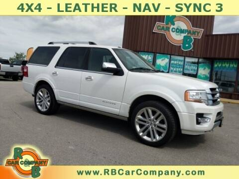 2017 Ford Expedition for sale at R & B CAR CO - R&B CAR COMPANY in Columbia City IN