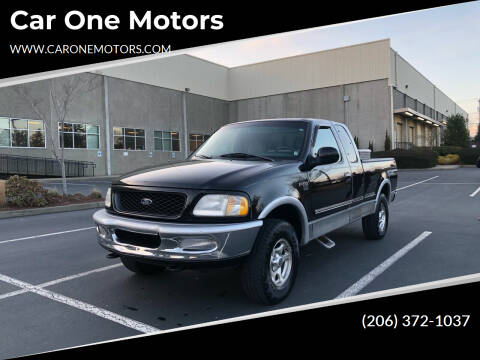 1998 Ford F-150 for sale at Car One Motors in Seattle WA