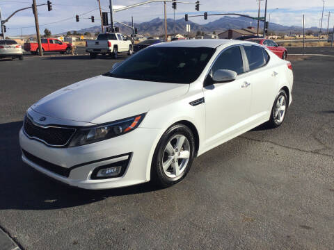 2015 Kia Optima for sale at SPEND-LESS AUTO in Kingman AZ