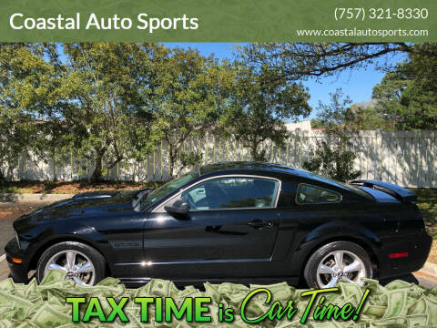 2008 Ford Mustang for sale at Coastal Auto Sports in Chesapeake VA
