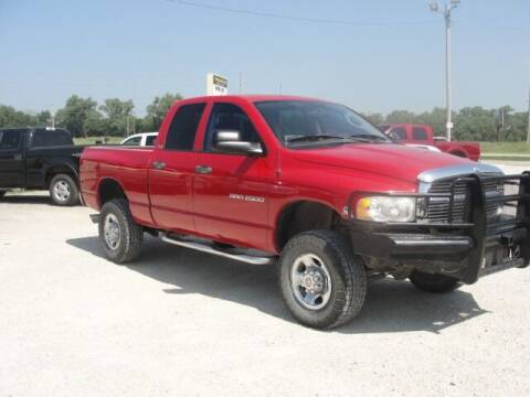 2004 Dodge Ram Pickup 2500 for sale at Frieling Auto Sales in Manhattan KS