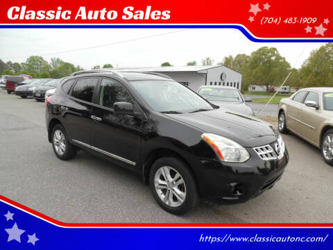 2012 Nissan Rogue for sale at Classic Auto Sales in Maiden NC