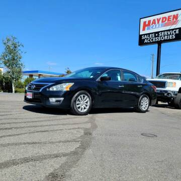 2014 Nissan Altima for sale at Hayden Cars in Coeur D Alene ID