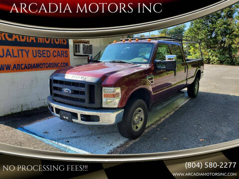 2008 Ford F-350 Super Duty for sale at ARCADIA MOTORS INC in Heathsville VA