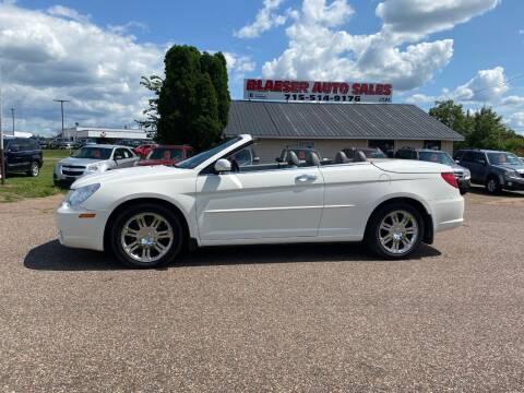 2008 Chrysler Sebring for sale at BLAESER AUTO LLC in Chippewa Falls WI