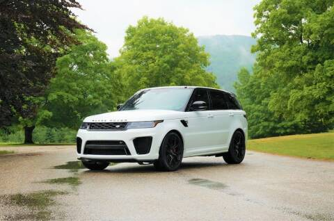 2018 Land Rover Range Rover Sport for sale at EuroMotors LLC in Lee MA