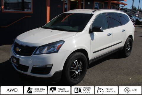 2015 Chevrolet Traverse for sale at Sabeti Motors in Tacoma WA