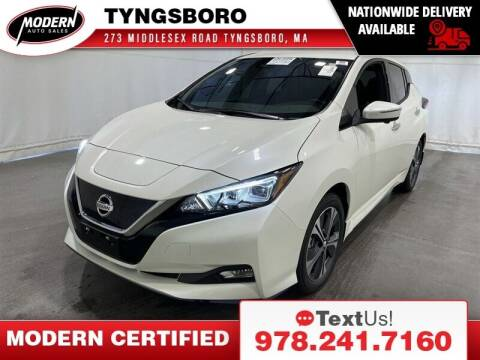 2020 Nissan LEAF for sale at Modern Auto Sales in Tyngsboro MA