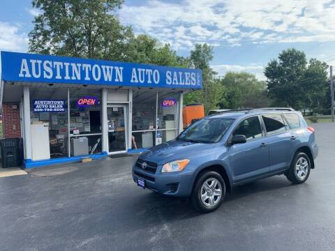 2010 Toyota RAV4 for sale at Austintown Auto Sales LLC in Austintown OH