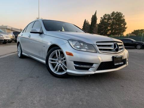 2012 Mercedes-Benz C-Class for sale at Boktor Motors in Las Vegas NV
