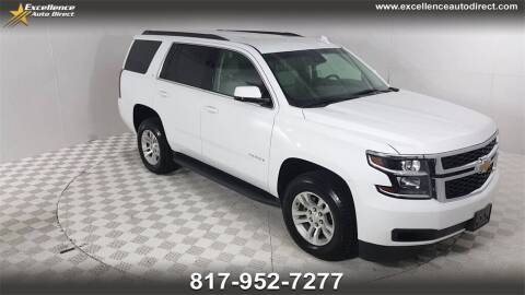 2018 Chevrolet Tahoe for sale at Excellence Auto Direct in Euless TX