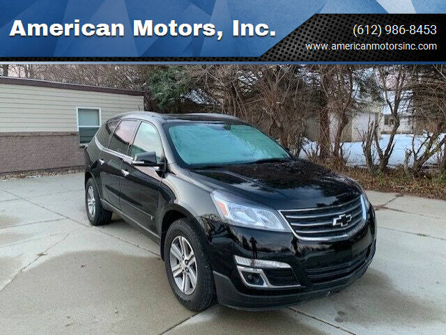 2017 Chevrolet Traverse for sale at American Motors, Inc. in Farmington MN
