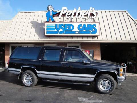 1994 Chevrolet Suburban for sale at Pethels Used Cars Inc in Kannapolis NC
