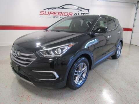 2018 Hyundai Santa Fe Sport for sale at Superior Auto Sales in New Windsor NY