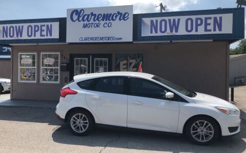 2015 Ford Focus for sale at Claremore Motor Company in Claremore OK