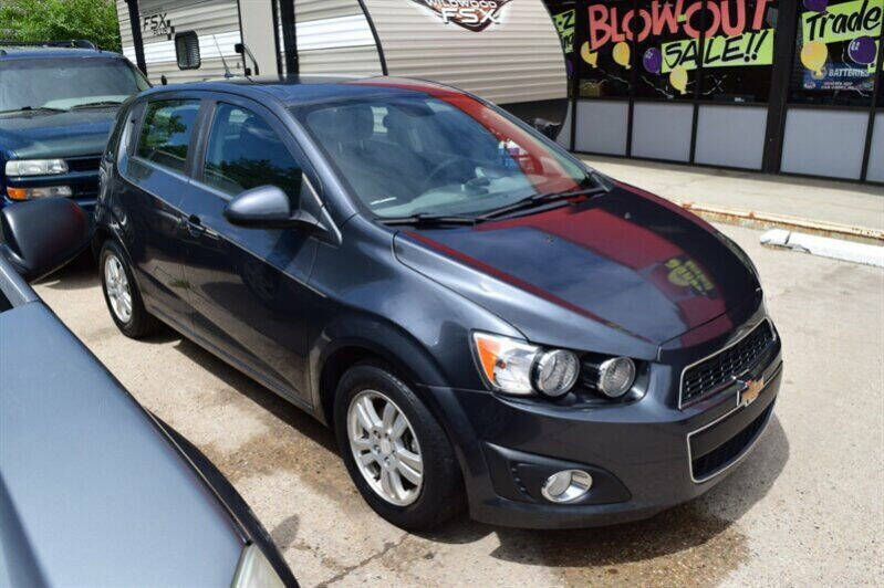 2013 Chevrolet Sonic for sale at Sunset Auto Sales & Repair in Lasalle CO
