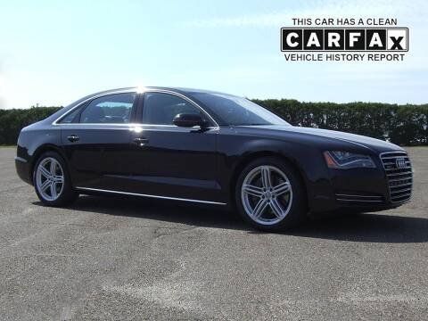 2013 Audi A8 L for sale at Atlantic Car Company in East Windsor CT