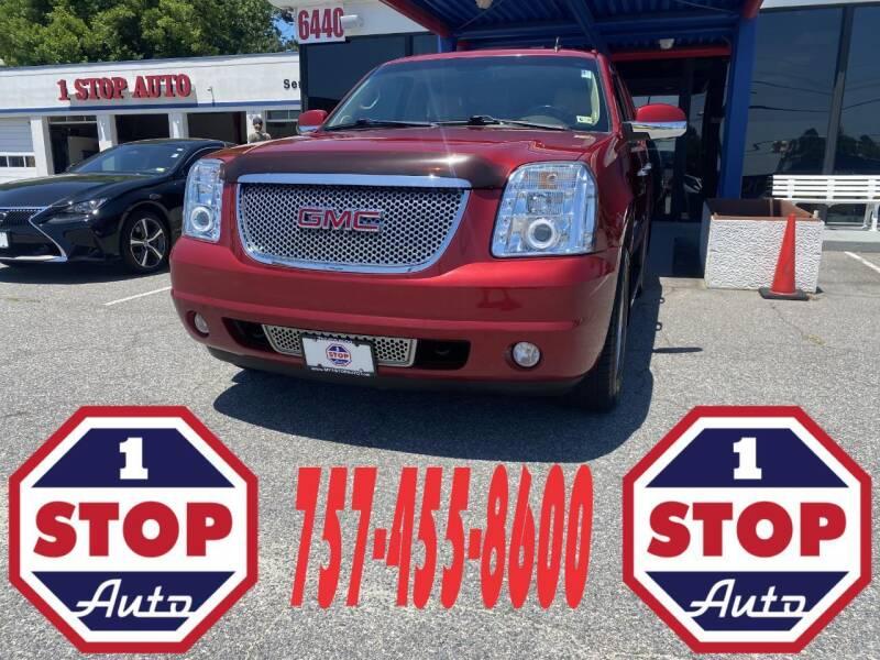 2012 GMC Yukon for sale at 1 Stop Auto in Norfolk VA