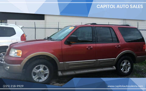 2004 Ford Expedition for sale at CAPITOL AUTO SALES LLC in Baton Rouge LA