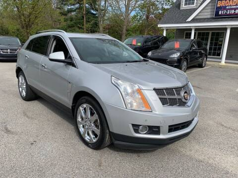 2010 Cadillac SRX for sale at Broadway Motor Sales and Auto Brokers in North Chelmsford MA