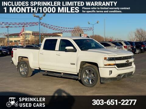 2018 Chevrolet Silverado 1500 for sale at Sprinkler Used Cars in Longmont CO