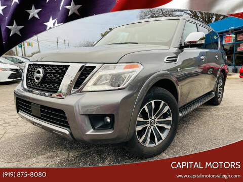 2020 Nissan Armada for sale at Capital Motors in Raleigh NC
