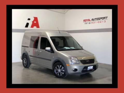 2013 Ford Transit Connect for sale at Royal AutoSport in Sacramento CA
