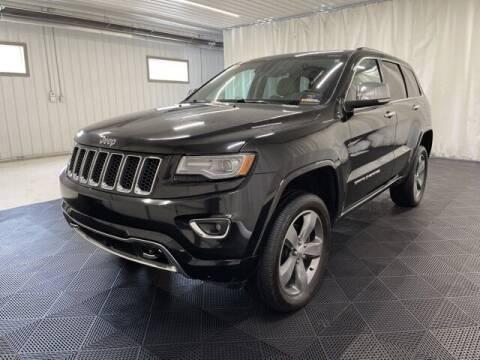 2014 Jeep Grand Cherokee for sale at Monster Motors in Michigan Center MI