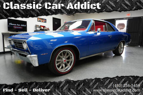 1967 Chevrolet Chevelle for sale at Classic Car Addict in Mesa AZ
