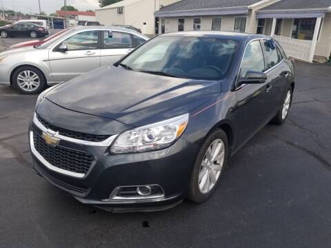 2014 Chevrolet Malibu for sale at Larry Schaaf Auto Sales in Saint Marys OH