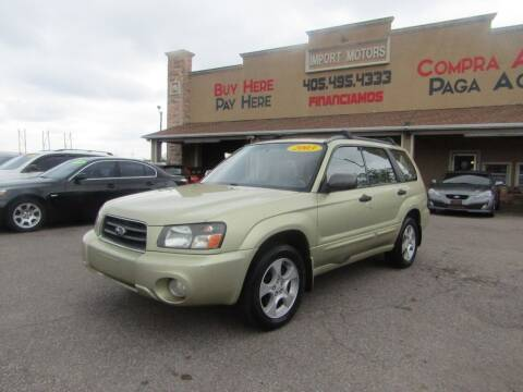 2003 Subaru Forester for sale at Import Motors in Bethany OK