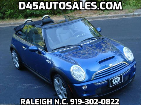 2005 MINI Cooper for sale at D45 Auto Brokers in Raleigh NC