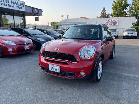 2013 MINI Countryman for sale at Adams Auto Sales in Sacramento CA