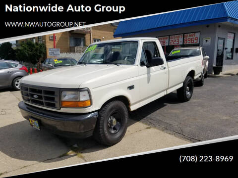 1995 Ford F-150 for sale at Nationwide Auto Group in Melrose Park IL