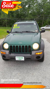 2003 Jeep Liberty for sale at Shamrock Auto Brokers, LLC in Belmont NH