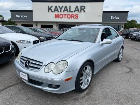 2009 Mercedes-Benz CLK for sale at KAYALAR MOTORS in Houston TX