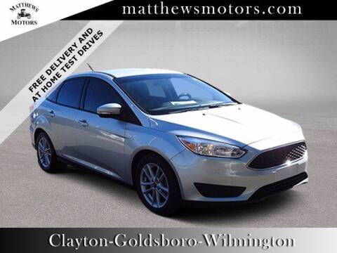 2017 Ford Focus for sale at Auto Finance of Raleigh in Raleigh NC