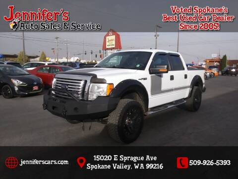 2012 Ford F-150 for sale at Jennifer's Auto Sales in Spokane Valley WA