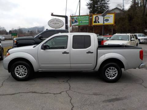 2016 Nissan Frontier for sale at EAST MAIN AUTO SALES in Sylva NC