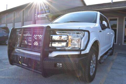 2018 Ford F-150 for sale at IMD Motors in Richardson TX