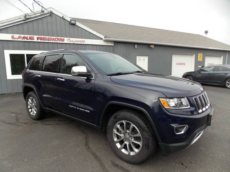 2015 Jeep Grand Cherokee for sale at LAKE REGION IMPORTS INC in Westbrook ME