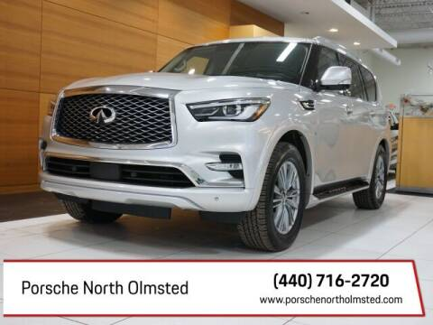 2020 Infiniti QX80 for sale at Porsche North Olmsted in North Olmsted OH