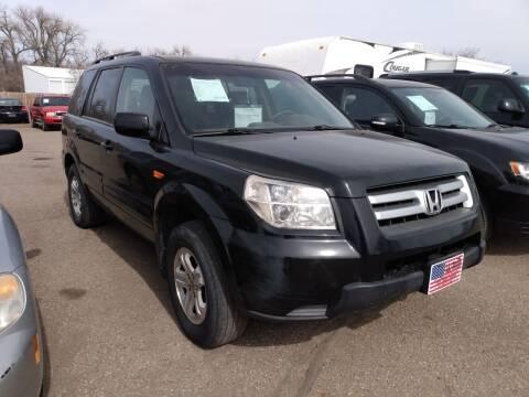 2008 Honda Pilot for sale at L & J Motors in Mandan ND