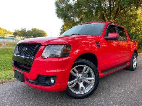 2010 Ford Explorer Sport Trac for sale at Powerhouse Automotive in Tampa FL