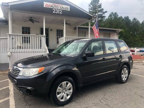 2009 Subaru Forester for sale at CVC AUTO SALES in Durham NC